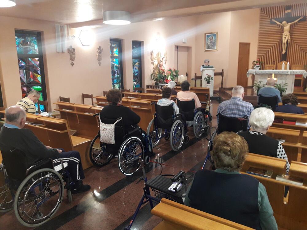 Recita del s. Roario in cappella