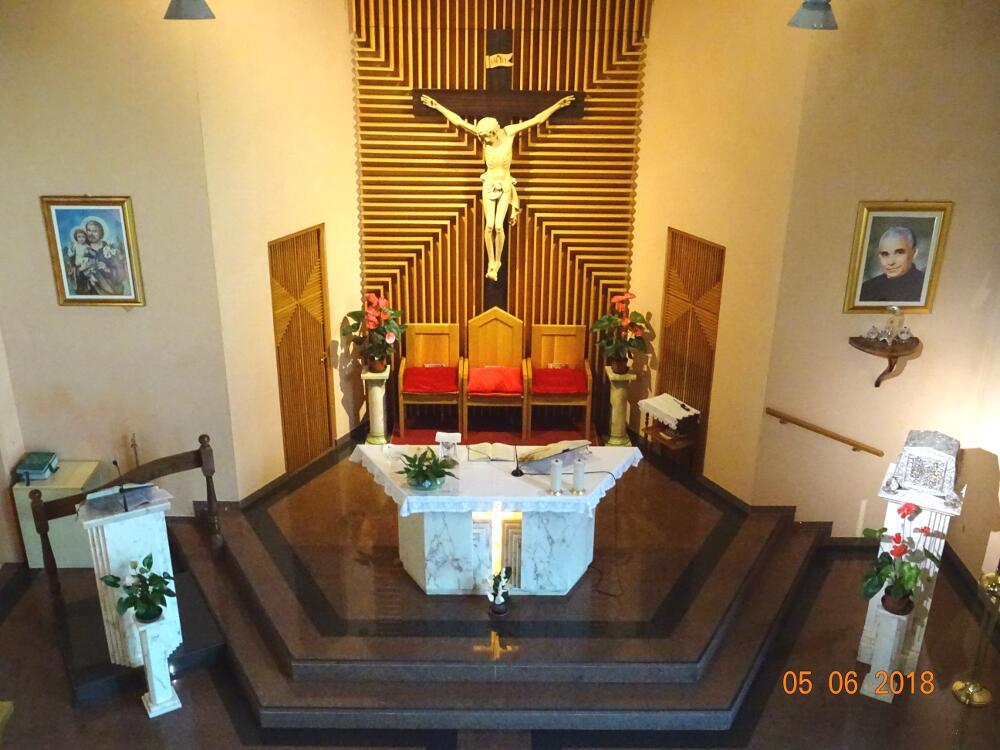 Interno della nostra cappella