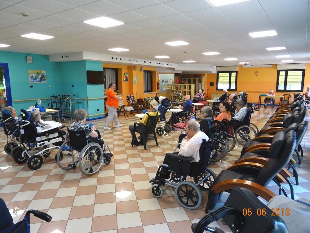 Sala soggiorno Don Bosco